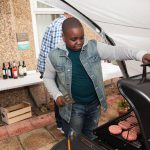 Cooking on BBQ