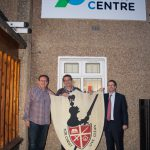 John S, Chris S and Martin London with old Knights sign