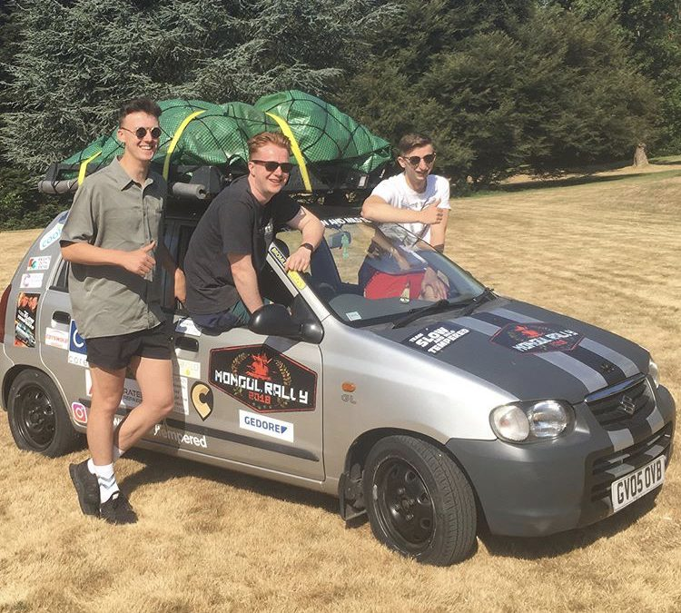 Mongol rally 2018 has started!