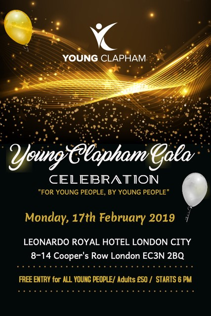Young Clapham Gala Celebration
